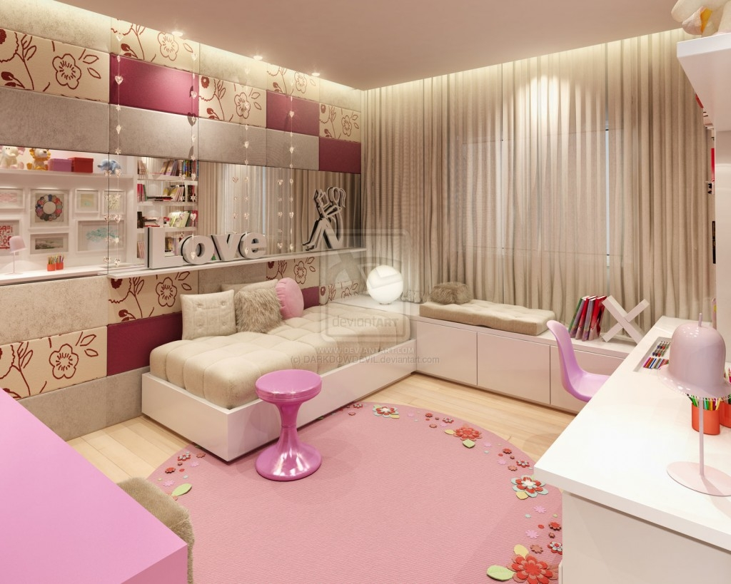 Room Design For Teenage Girls Brown Lfbwvr Home Design Interior ...